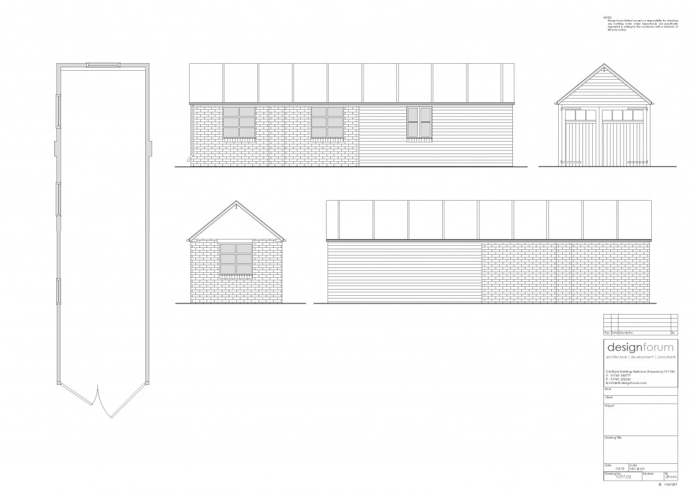 Planning Application Redevelopment And New Build Of Redundant Farm Buildings